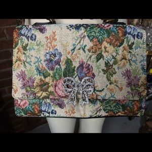 Cross body Aldo flower print bag